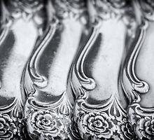 Vintage Sterling Silverware by Dobromir Dobrinov