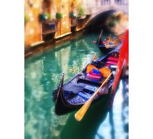 Gondola in Venice Photographic Print