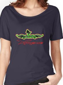 SURF Xtreme Designer Tees and Stickers Women's Relaxed Fit T-Shirt