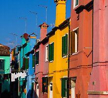 Colorful Burano by Dobromir Dobrinov