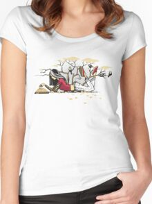 Compelling Compendium Women's Fitted Scoop T-Shirt