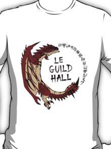 Monster Hunter Le Guild Hall-Rathalos Version 2 Base Colors T-Shirt