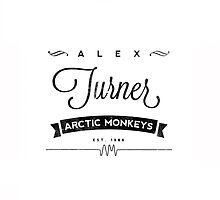 Alex Turner Logo by stylinson
