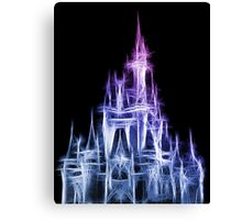 Disney Magic: The Castle Canvas Print