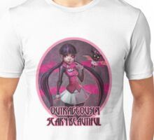Outrageously scary beautiful Unisex T-Shirt