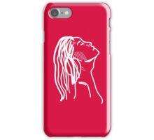 Red Girl Sketch iPhone Case/Skin