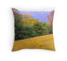 Golden Fields Of Autumn Throw Pillow