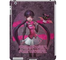 Outrageously scary beautiful iPad Case/Skin