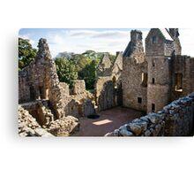 ancient ruins Canvas Print