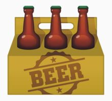 Beer Six Pack by artpolitic