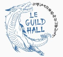 Monster Hunter Le Guild Hall-Lagiacrus Version 1 Uncolored Kids Clothes