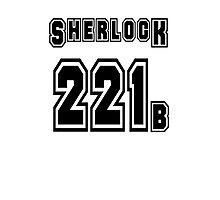 Sherlock 221b - Sports Jersey - SHERLOCK Photographic Print
