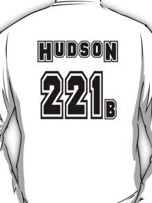 Hudson 221b - Sports Jersey - SHERLOCK T-Shirt