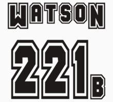 Watson 221b - Sports Jersey - SHERLOCK by poorlydesigns