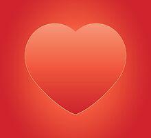 Valentines Heart iPad by feiermar