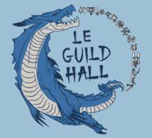 Monster Hunter Le Guild Hall-Lagiacrus Version 2 Base Colors Kids Clothes