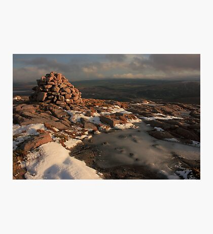 Frozen Summit Of Croaghnageer Photographic Print