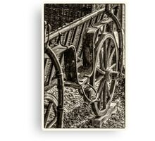 Old carriage Canvas Print