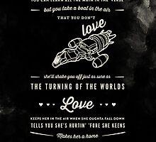 Love - Capt. Malcolm Reynolds (Serenity) by thatfandomshop