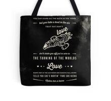 Love - Capt. Malcolm Reynolds (Serenity) Tote Bag