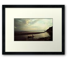 Boat Cruiser Monte Negro Framed Print