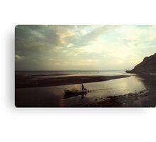 Boat Cruiser Monte Negro Metal Print