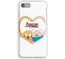 Adventure finn and jake love iPhone Case/Skin