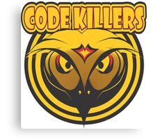 CODE KILLERS Canvas Print