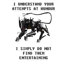 Understanding Humour  Photographic Print