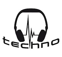 Techno Headphone Logo by Style-O-Mat