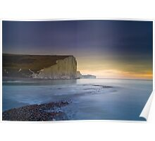 The Seven Sisters from Cuckmere Haven Poster