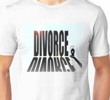 Divorce dwarfing small man Unisex T-Shirt