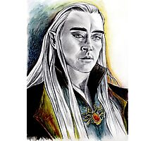 Lee Pace, fascinating Thranduil Photographic Print