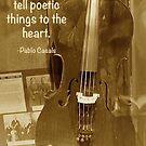 Vintage Cello by Cee Neuner