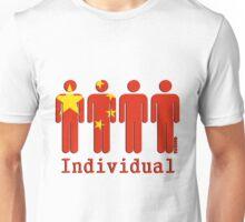 Individuals of china  Unisex T-Shirt