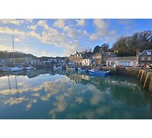 Cornwall: Padstow Harbour Reflections Photographic Print