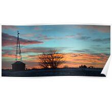 Beautiful Mornin' Panorama Poster