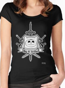 Hva Er Klokka? Women's Fitted Scoop T-Shirt