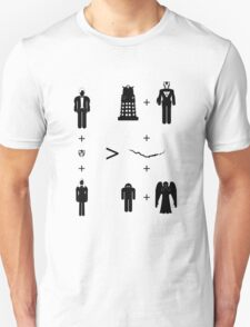 Doctor Who Maths - Trenzalore Edition, Clara T-Shirt