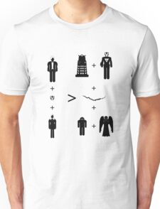 Doctor Who Maths - Trenzalore Edition, Clara Unisex T-Shirt