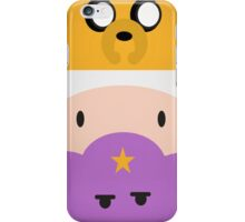 Adventure Time  Jake and finn iPhone Case/Skin
