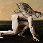 Homo Piscis Volans (Flying Fish-Man) by Anne Darling