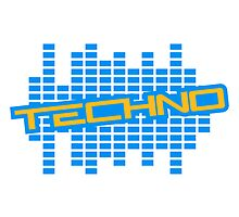 Equalizer Techno Logo by Style-O-Mat