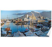 V & A Waterfront Cape Town Poster