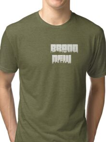 Brand New City Scape Tri-blend T-Shirt