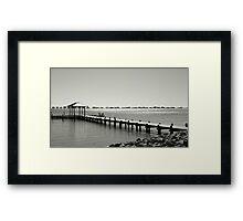 Fabulous Gulf..... Framed Print