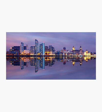 Liverpool Skyline Photographic Print