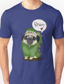 Rawr: the dinosaur pug T-Shirt