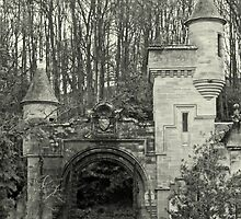 Gatehouse and Turrets by printerbill