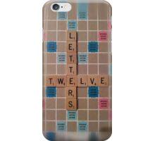 Meta Scrabble iPhone Case/Skin